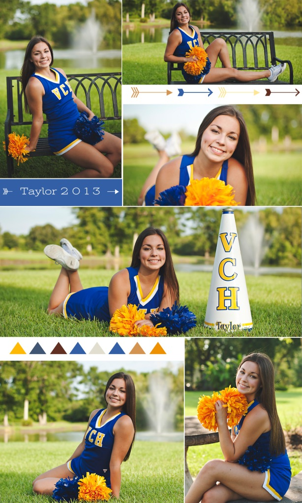 Taylor Cheer Portraits